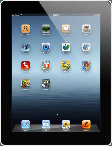 Apple iPad 3 (2012) Wi-Fi + 4G