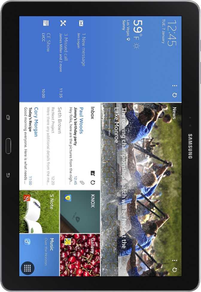 "Samsung Galaxy Note Pro 12.2"" Wi-Fi + 4G"